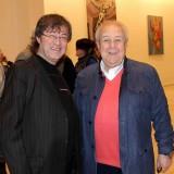 Академик Ильяс Айдаров с президентом РАХ Зурабом Церетели