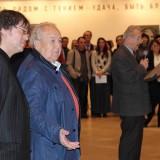 Ильяс Айдаров и Зураб Церетели на открытии выставки в Манеже