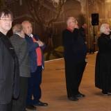 Ильяс Айдаров на открытии выставки в Манеже