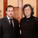Министр культуры РФ Владимир Мединский и Ильяс Айдаров