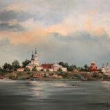 Остров Свияжск, 2016, Х.М., 65х85